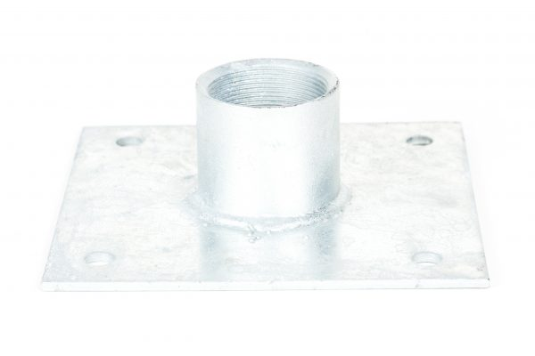 Galvanised Baseplates (4 Holes)
