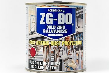 ZG90 Zinc Galv Brush Paint
