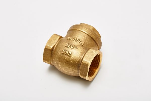 Brass Rubber Seated Swing Check Valves